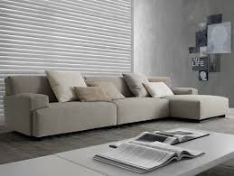 sectional upholstered sofa soho by poliform design paolo piva