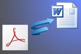 Pdf To Word How To Convert Word Files To Pdf