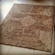 tappeto con tappi di sughero ripensare e riciclare archives