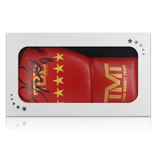 mayweather bentley floyd mayweather signed tmt boxing glove in gift box