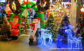 christmas decoration stores christmas lights decoration
