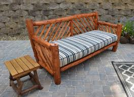 Build Your Own Wood Patio Furniture by Tips On How To Build Your Own Set Of Rustic Outdoor Furniture