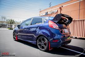 subaru hatchback wing quick snap paul c goes big with rally innovations wing on ford
