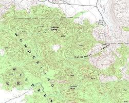 Topo Map Joshua Tree Route Topo Map Photos Diagrams U0026 Topos Summitpost