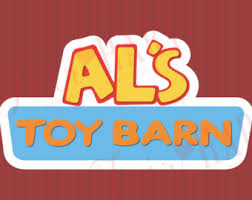 Al From Als Toy Barn Toy Story Pizza Planet Full Color Party Poster Digital