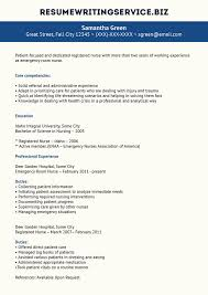 Resume Samples Rn by Resume Sample For Er Nurse Template