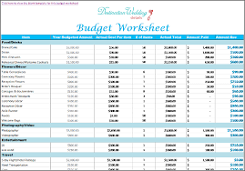 Wedding Budget Wedding Budget Templates Gse Bookbinder Co