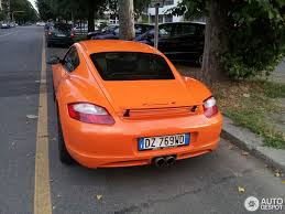 porsche cayman orange porsche cayman s sport 7 july 2014 autogespot