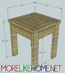 Wood Plans For Small Tables by Best 25 Craftsman Style Table Ideas On Pinterest Mission Style