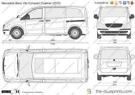 mercedes vito interior the blueprints com vector drawing mercedes benz vito compact