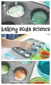 baking soda science activity for preschool science
