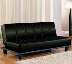 furniture exclusive brown tufted leather futon couch bed design