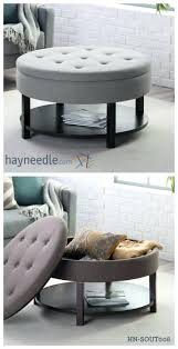 Narrow Ottoman Granite Coffee Table Narrow Storage Ottoman Suede Buttoned