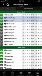 major league soccer table tls soccer premier stats on the app store