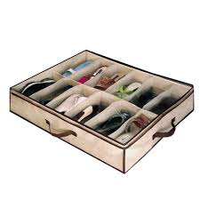 underbed shoe storage organizer repair pinterest storage