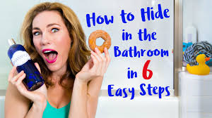 Hidden Camera In Boys Bathroom How To Hide In The Bathroom In 6 Easy Steps Youtube