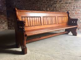 gothic revival pine church pew 1890s for sale at pamono
