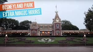 disneyland park extra magic hours space mountain matterhorn big
