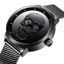 black mesh bracelet images Mens black wrist watches men waterproof mesh bracelet large face jpg