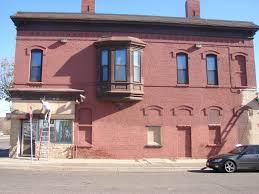 repainting brick building