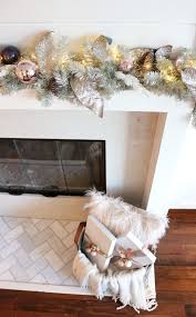 decking the halls with a rose gold christmas tree