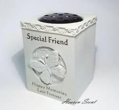 Flower Vase For Grave Grave Memorial For Friend Flower Vase Pots Rose Bowl Ornament