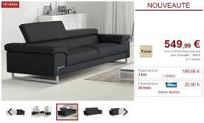 avis vente unique canapé vente unique com avis vente canap et fauteuil en cuir vieilli