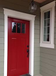 how to paint the front door beautiful paint front door red for contemporary ideas apse co