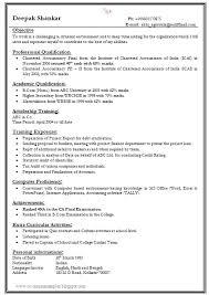 resume sles for freshers in word format resume format sles resume badak