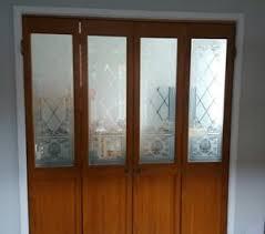 wickes doors internal glass wooden bi fold door ebay