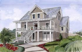 beach house plan for narrow lot 15034nc architectural designs