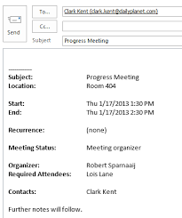 send meeting details in emails rather than as an invite or ics