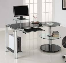 L Shaped Contemporary Desk by Office Desk With Bookcase Spaces Modern Small Business Small