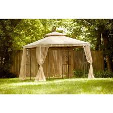Patio Gazebos by Garden Hampton Bay Gazebo For Inspiring Pergola Design Ideas