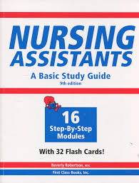 nursing assistants a basic study guide 9th edition book u0026 flash