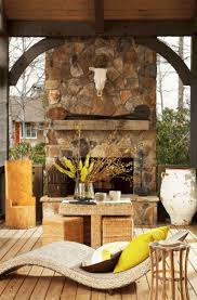 45 stunning outdoor fireplace designs for relaxing with your