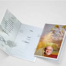 Funeral Program Printing Services Funeral Program Using Funeral Template Unlimited Content