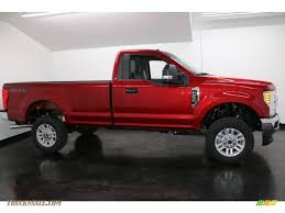 2017 ford f250 super duty xlt regular cab 4x4 in ruby red for sale