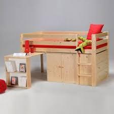 lit combin avec bureau lit combiné avec bureau et rangement couchage 90x190cm lino