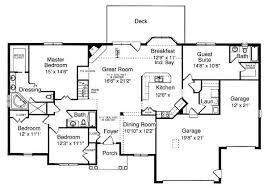 ranch floor plans with 3 car garage creative design house plans with 3 car garage ranch unique single