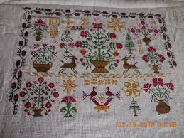 country cottage cross stitch stitching cats may 2014 111 best