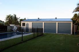 Single Car Garages by Steel Garages And Sheds For Sale Ranbuild