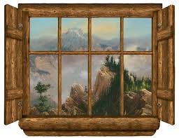 rustic wallpaper for walls rustic window sawtooth point peel