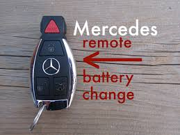 mercedes c class change how to mercedes key fob remote keyless battery change replace