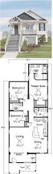 Lake Home Plans Narrow Lot by Best 25 Beach House Plans Ideas On Pinterest Lake House Plans