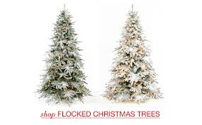 stylish design frosted christmas trees our teal green silver and