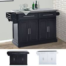 kitchen island with stainless top stainless steel kitchen island ebay
