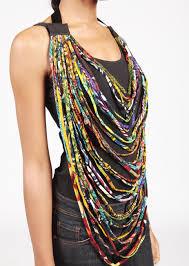 multi rope necklace images Diy ankara rope necklace betta fish bowl ideas pinterest jpg