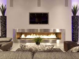 long contemporary electric fireplace fire pits ideas fireplace