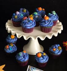 decoration cupcake anniversaire space party cupcakes google search space birthday party